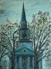 College church 1987